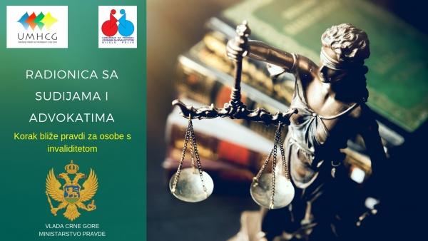 NAJAVA: Trening za sudije i advokate o institutu besplatne pravne pomoći