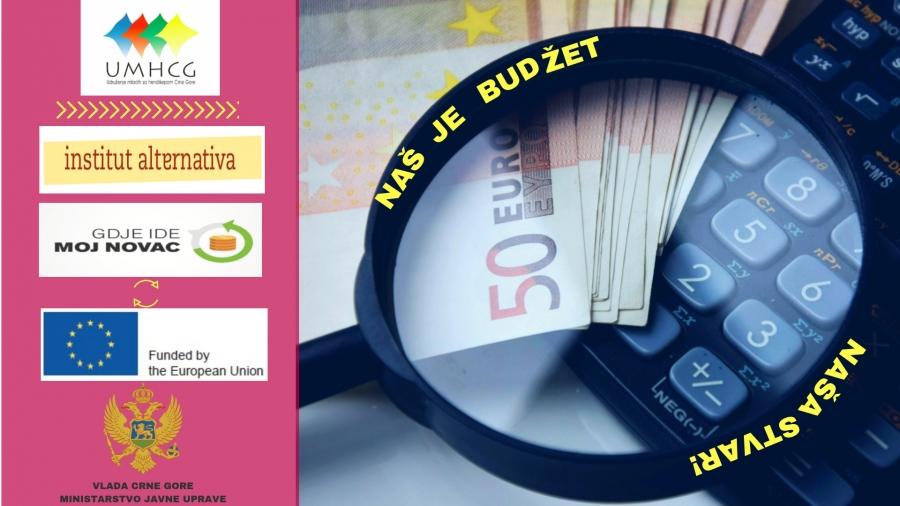UMHCG započinje realizaciju projekta Naš je budžet naša stvar!