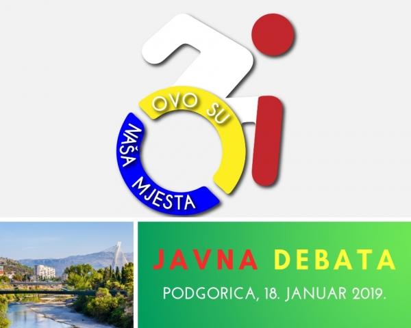NAJAVA: Javna debata o značaju pristupačnosti javnog saobraćaja za osobe s invaliditetom (OSI)