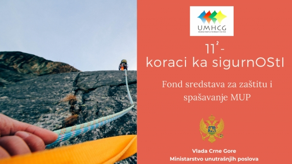 NAJAVA: UMHCG započinje realizaciju projekta 11²- koraci ka sigurnOStI